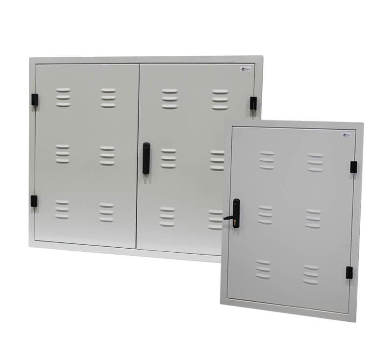 puerta cortafuegos registro