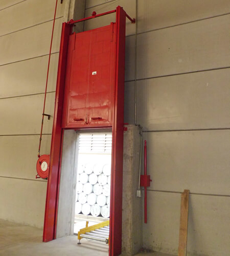 puertas correderas de guillotina