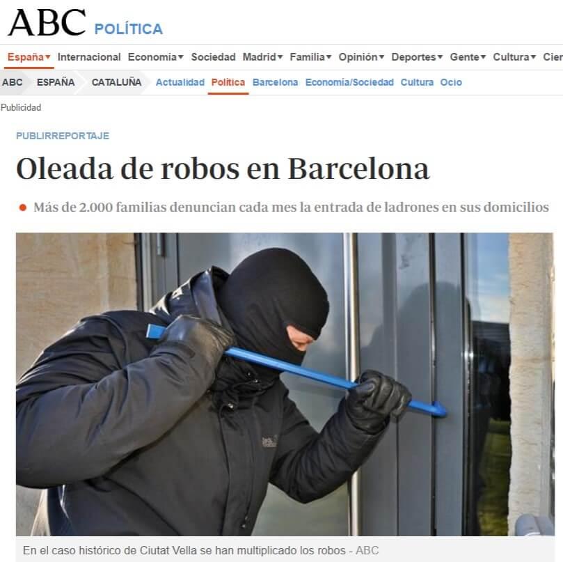barcelona acorazadas y blindadas