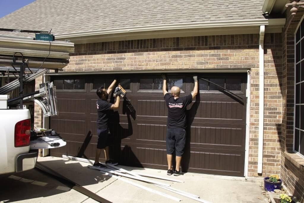 Instalacion puertas de garaje Las Matas