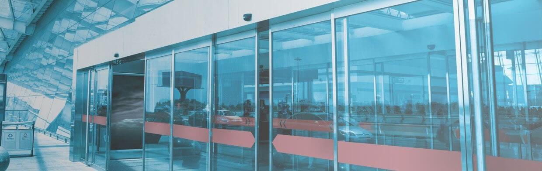 puertas automaticas de cristal La Moraleja