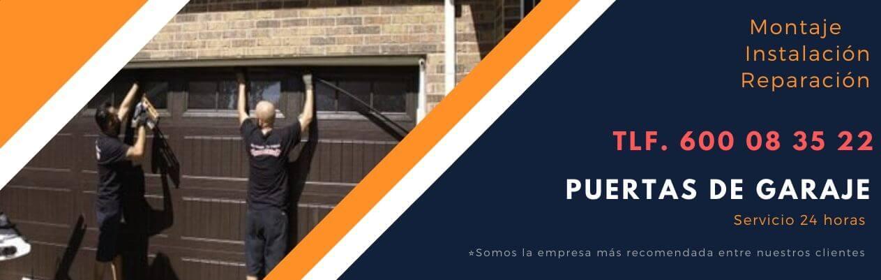 reparacion de puertas garaje Griñon