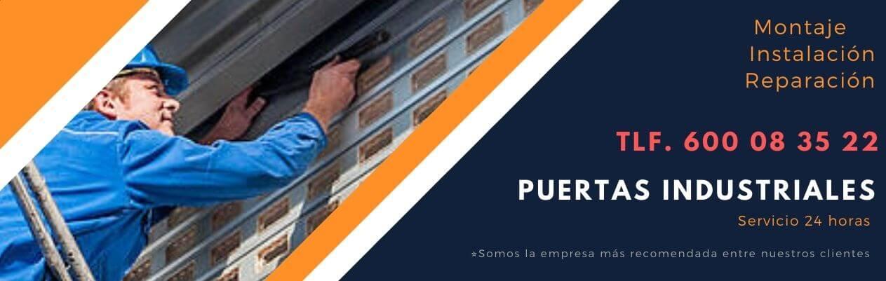 reparacion puertas industriales Madrid