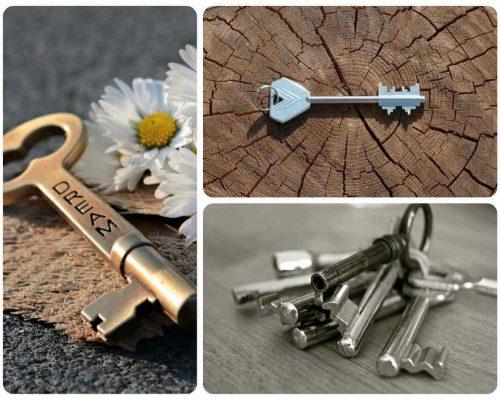 llaves de puerta acorazada